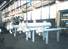Set of New Shell and Tube Heat Exchangers
